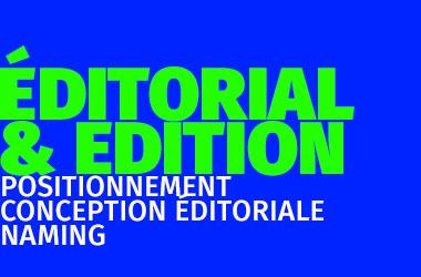 Agence de communication gleech - Éditorial & édition