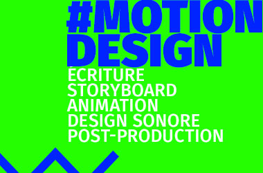 Agence de communication gleech - Motion Design