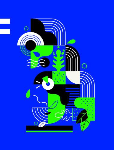 Agence de communication gleech - Illustration