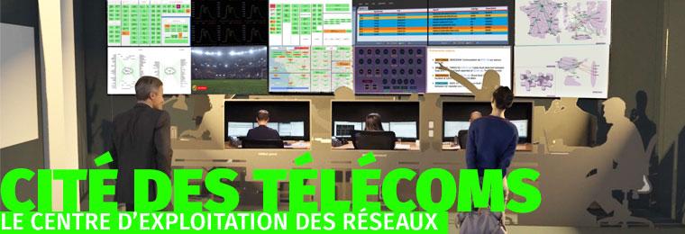 Centre d'exploitation des réseaux - Citée des Télécoms