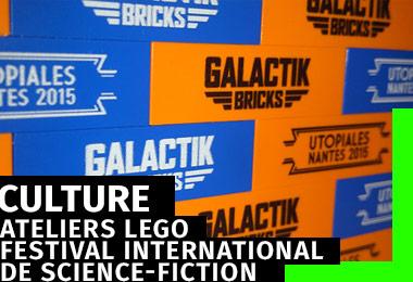 Motion design pour Galactik Brick - Atelier de lego des Utopiales