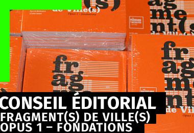 Fragment(s) de Ville(s) - Conseil éditorial et design graphique