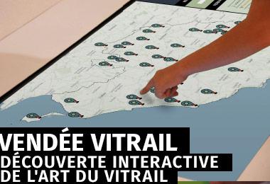 Vendée Vitrail - Parcours interactif