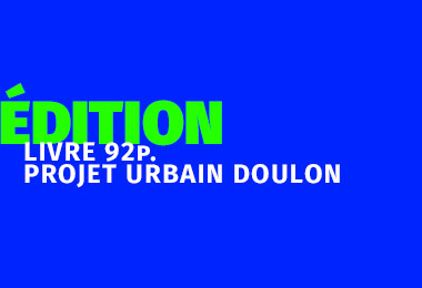 Design Graphique - Livre sur le projet urbain de Doulon Nantes