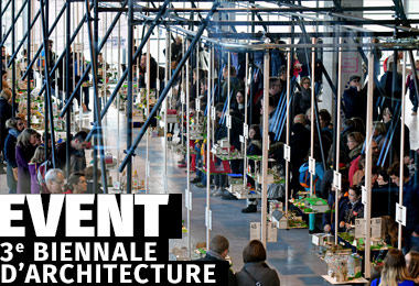 Identité Visuelle - 3ème biennale d'architecture