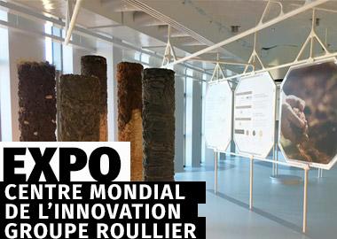 Pavillon des minéraux - Centre mondial de l'innovation Roullier