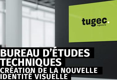 Refonte complète de l'identité visuelle du bureau d'études Tugec Ingénierie