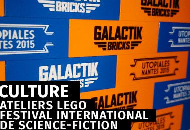 GALACTIK BRICKS - Atelier LEGO - Nantes - Festival international de Science-Fiction les Utopiales