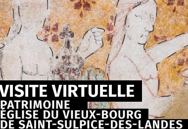 Visite virtuelle - Église du vieux-bourg de Saint-Sulpice-des-Landes