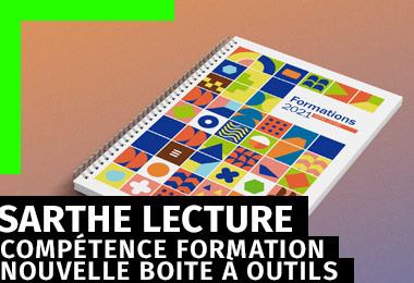 gleech - design graphique - charte graphique outils de communication formation professionnelle Sarthe Lecture
