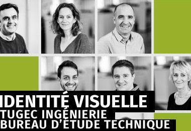 gleech - design graphique - Création de l'identité visuelle du bureau d'études techniques TUGEC Ingénierie