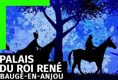 Agence gleech - parcours interactifs musées et exposition - dispositifs interactifs et ludiques de médiation - château de Baugé-en-Anjou