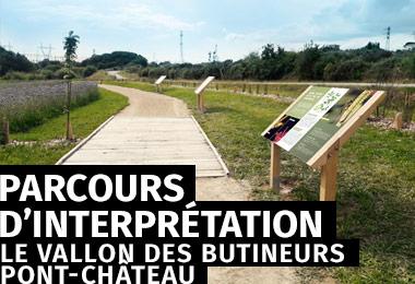 Le vallon des butineurs - Parcours d'interprétation à Pont-Château