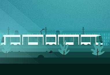 Campagne Travaux de l'été - SEMITAN - Motion design